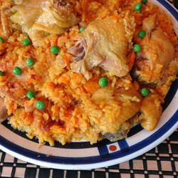 Cuban Chicken with Rice - Arroz Con Pollo - Simple, Easy ...
