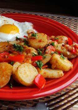 Spanish potatoes papas bravas simple easy to make cuban papas bravas spanish potatoes forumfinder Image collections